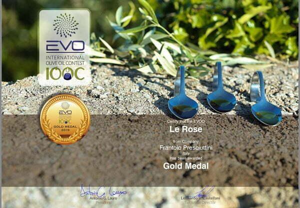 Frantoio Presciuttini - Extra Virgin Olive Oil - Le Rose - Prize