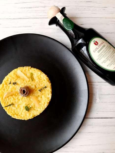 Colonna GRANVERDE-RICE CAKE WITH GRANVERDE OIl recipe