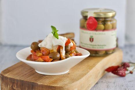 Colonna - ITRANA Olives - Caponata recipe