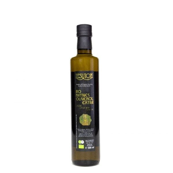 Lesvion 500ml Greek Organic Extra Virgin Olive Oil