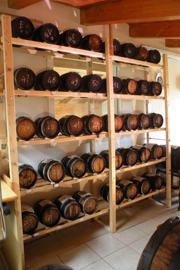 Acetaia Ferretti Corradini - Balsamic Vinegar production process