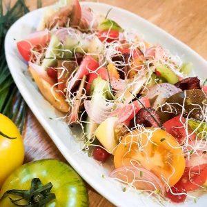 Chef Recipe - Tomato Salad