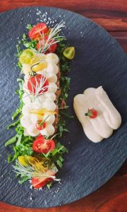 Caprese Mozzarella Tomato Salad - Schubel Dubel - The Good Gourmet