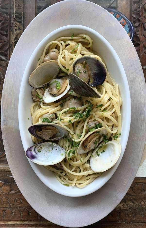 Clamps Linguine - Marco Nardi - The Good Gourmet